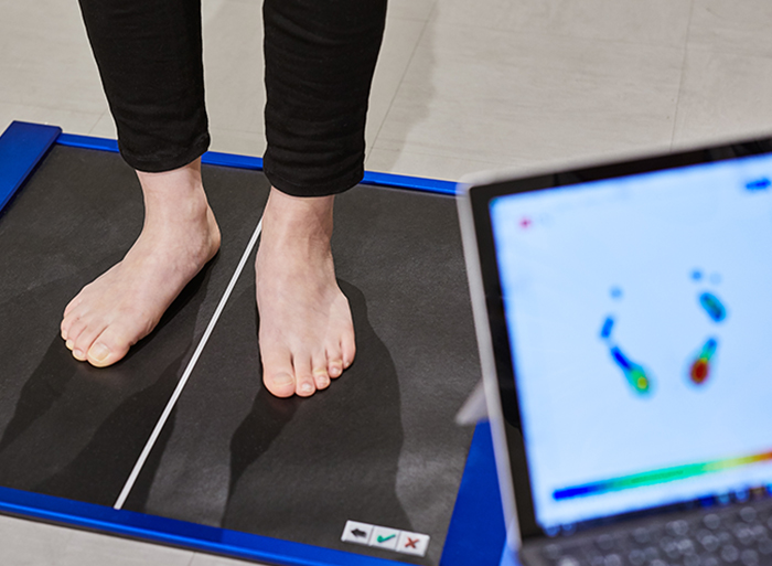 足底圧計測(追加オプション)